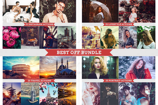 100 Actions Bundle