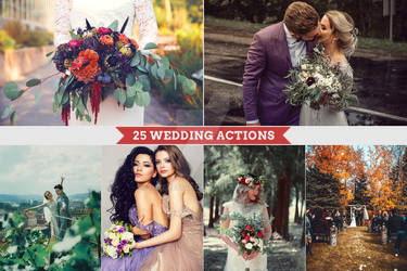 25 Wedding Actions by interesive