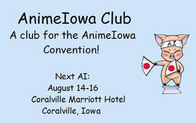 AnimeIowa Club ID by AnimeIowa-Club
