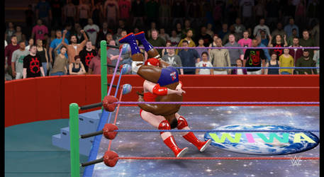 Intergender sit-out tombstone piledriver by fzero64
