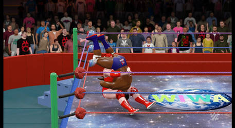 Intergender sit-out tombstone piledriver pt 2 by fzero64
