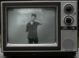 Tv black and white by sinaxpod