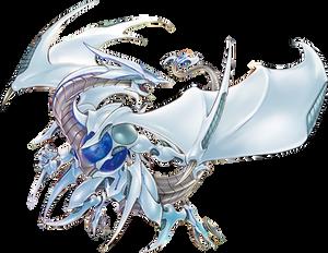 Cosmic Blazar Dragon - Full Artwork