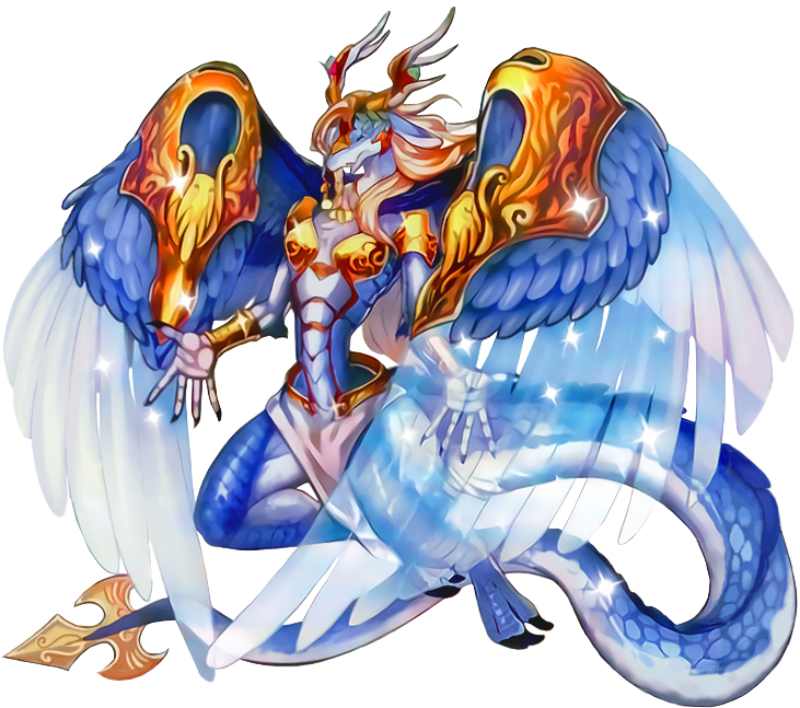 Saffira, Queen of Dragons - Full Artwork by XrosM