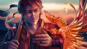 Phoenix mage by Yunipar