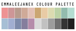 Colour Palette by emmaleejanex