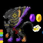 Offspring Token Spirit 2 for Darkfire by ReekaRose