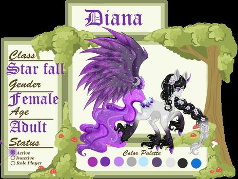 Diana's Reg Sheet