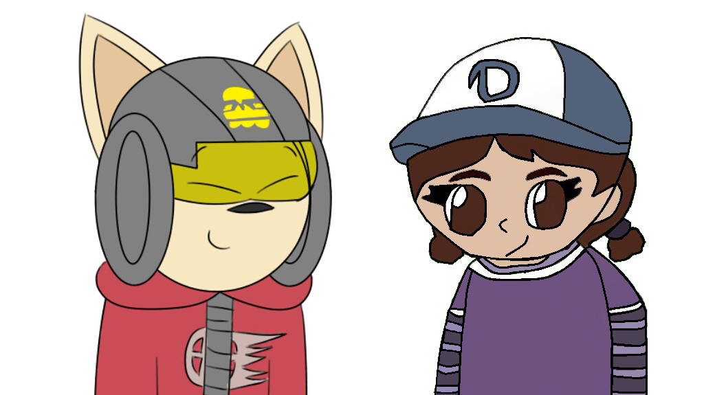 Smash meets clementine (Collab) by TheSucmbagLeeEverett