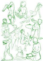 Practise Poses 2 by shamisho