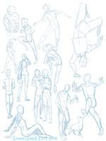 Practise Poses 3 by shamisho