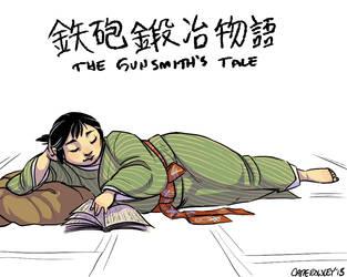 Matsue the Gunsmith by Jaqhnun