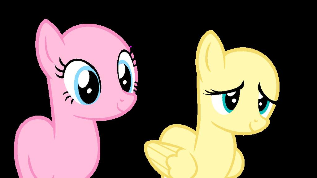 earth pony and pegasus base by wishingwellbro on deviantart
