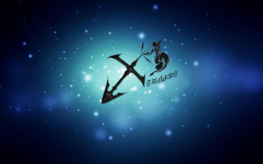 Sagittarius Sign By Madita85artista