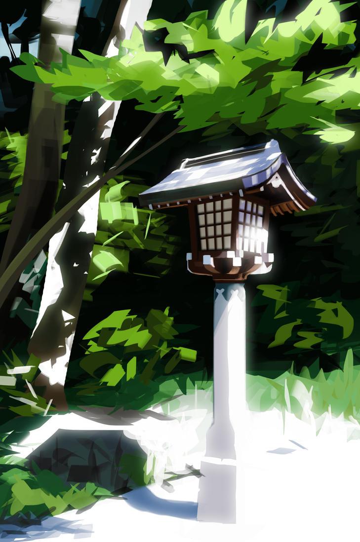 Meiji Shrine by Meecho