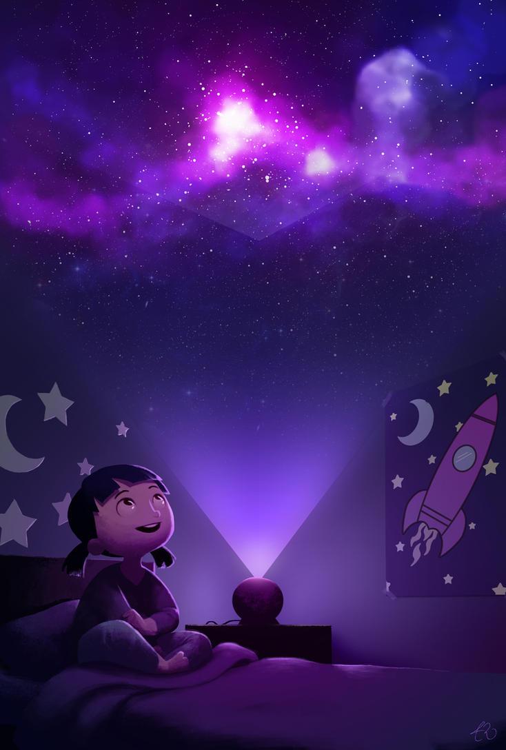 Bedroom Planetarium By Meecho On DeviantArt