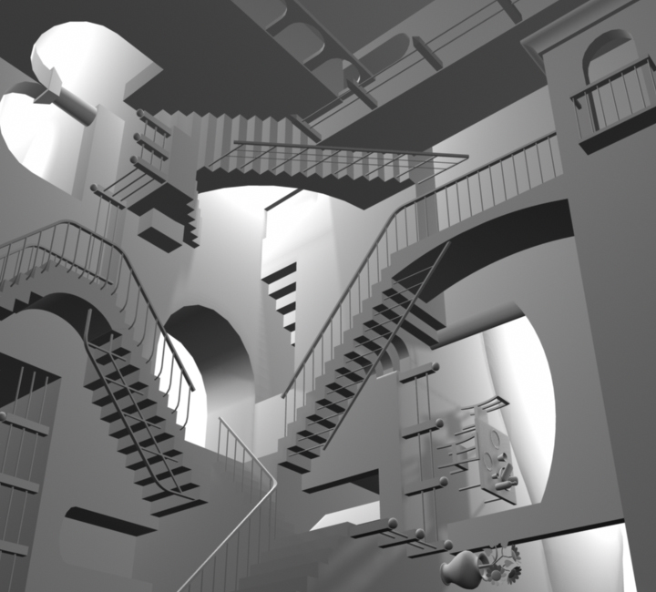 crazy stairs by meecho on deviantart