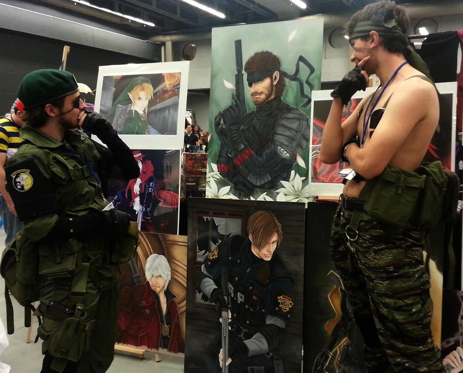 Snake Metal Gear Solid by aquaboysteve