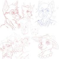 Headshots Sketchs
