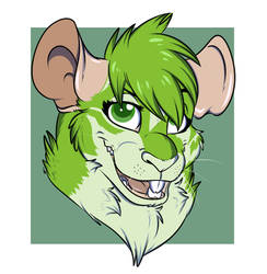 Apex the green rat