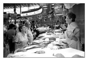 at market  in barcelona by streetlivefotograph