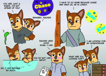 Chase And Racker (people) by phuriphat05327