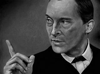 Sherlock Holmes (Jeremy Brett) by MissAway