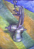 Still life with meat grinder by akrawczyk83