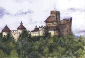 Castle of Niedzica (Poland) by akrawczyk83