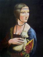 Lady with ermine by akrawczyk83