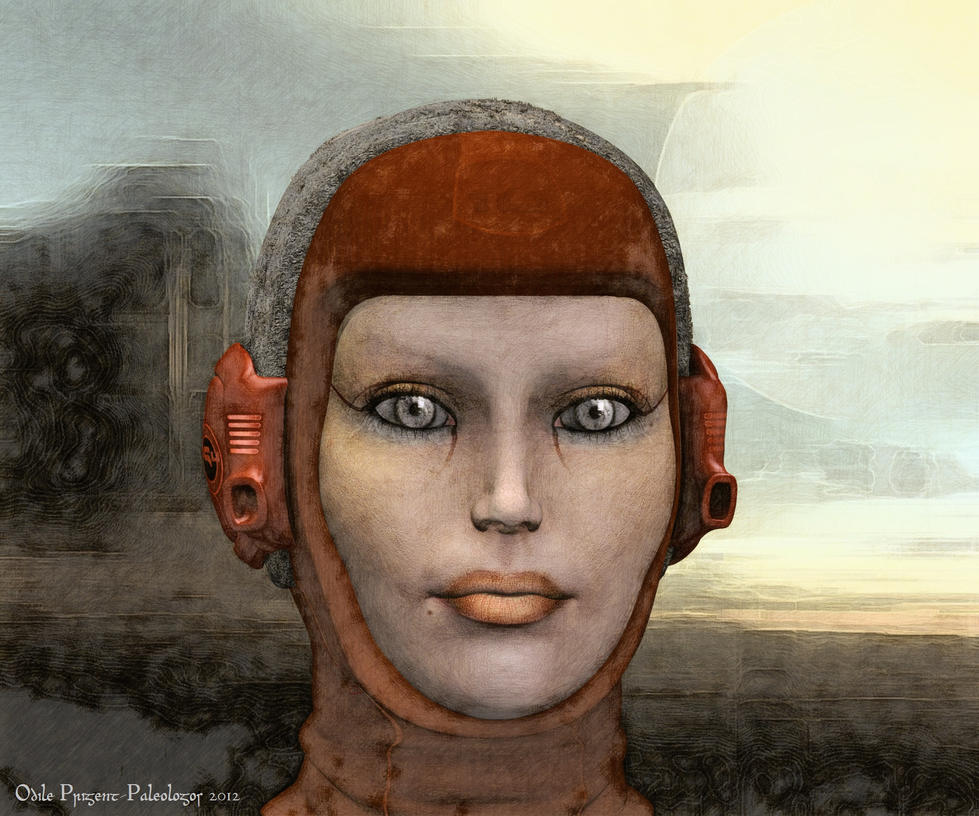 Martian Girl by Odilicious