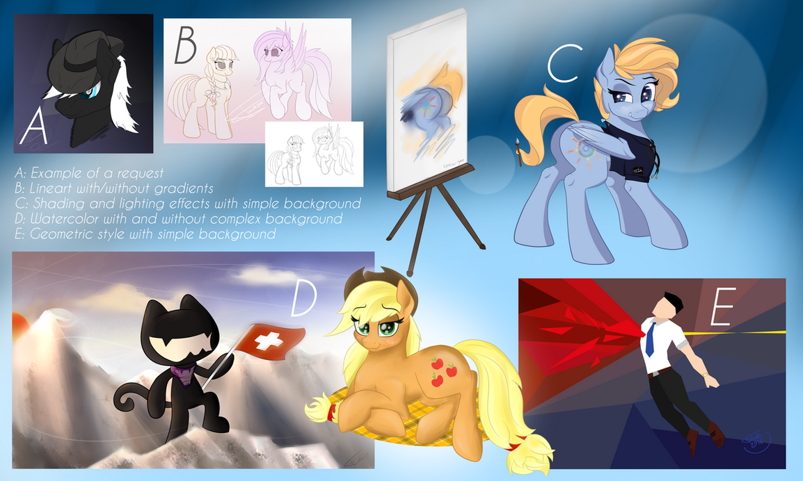 Commissions/Requests opening! 4 requests remaining by Falcotte