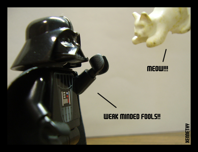 Vader: Force Choke by Xennethy