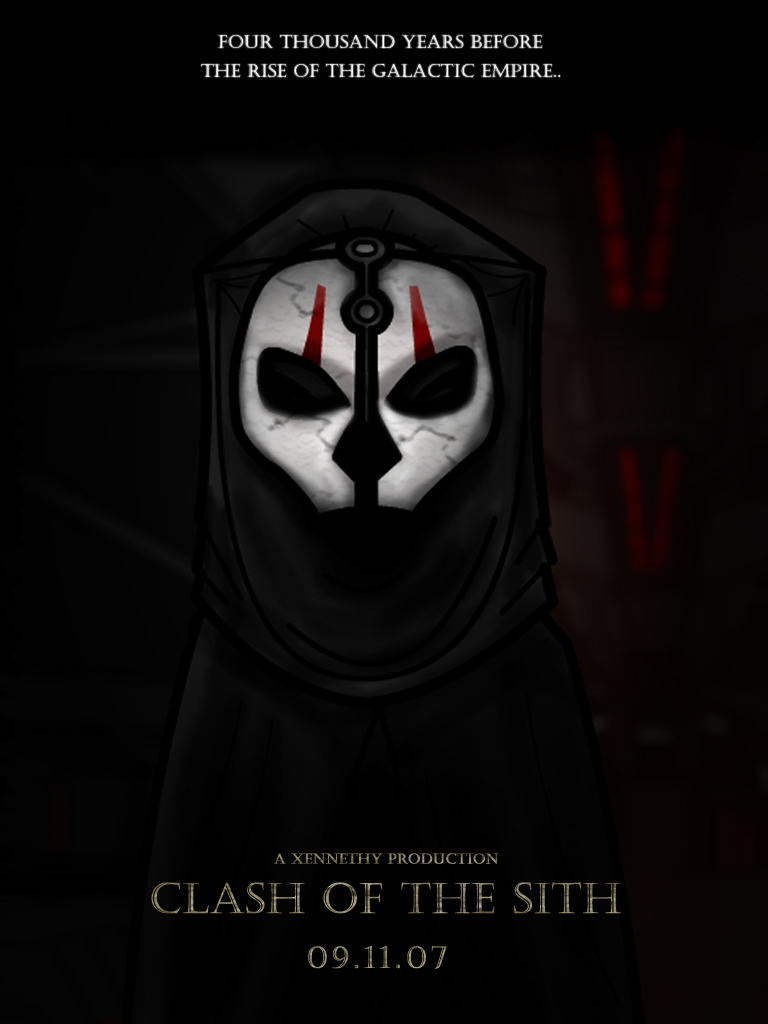 Clash Of The Sith Poster 2 by Xennethy