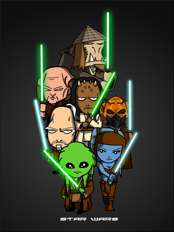 SW Gallery: Jedi by Xennethy