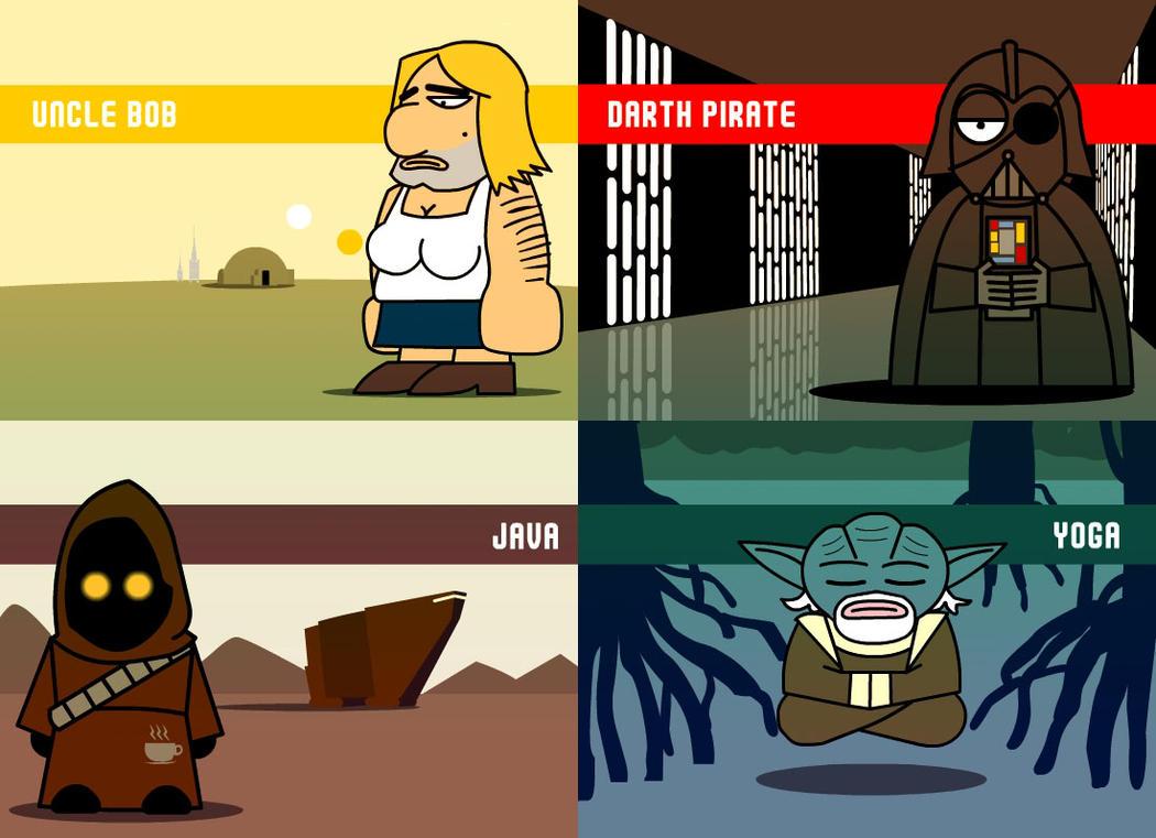 Star Wars Wacky by Xennethy