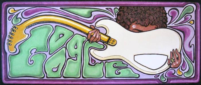Google doodle Jimmie Hendrix