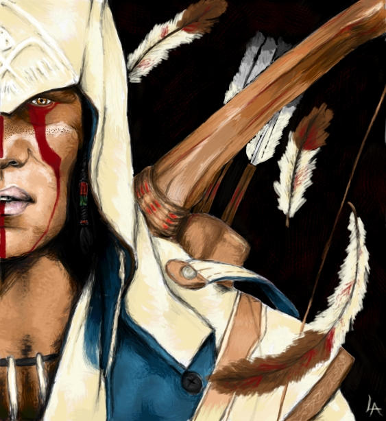 Connor Kenway Assassin S Creed Iii By Miss Lizzie Jane On Deviantart
