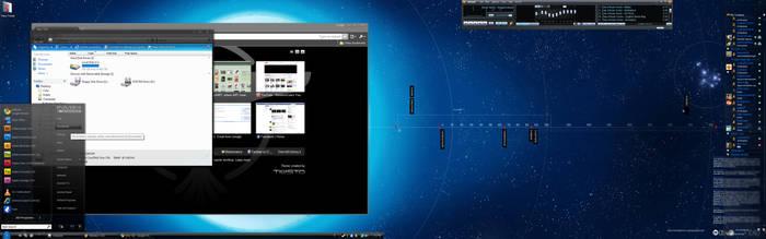 My Desktop by CorporateCola