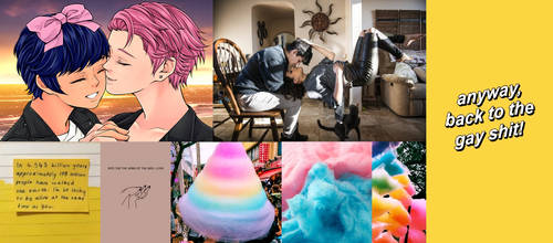 Cotton Candy Moodboard