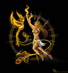 Phoenixlady with Phoenix II
