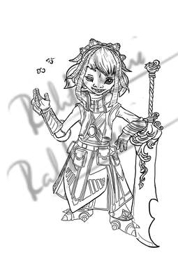 Guild Wars 2 - Commission Asura Mesmer