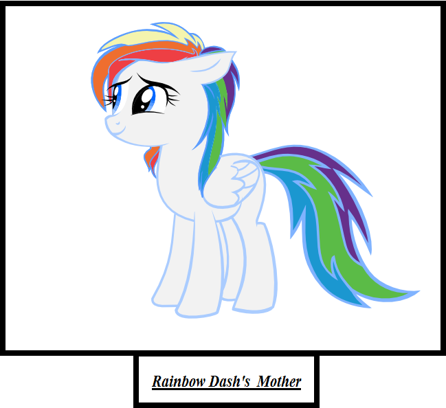 Baby rainbow dash crying rainbow dash s mother by