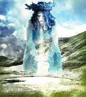 Winter's goddess by frenchfox