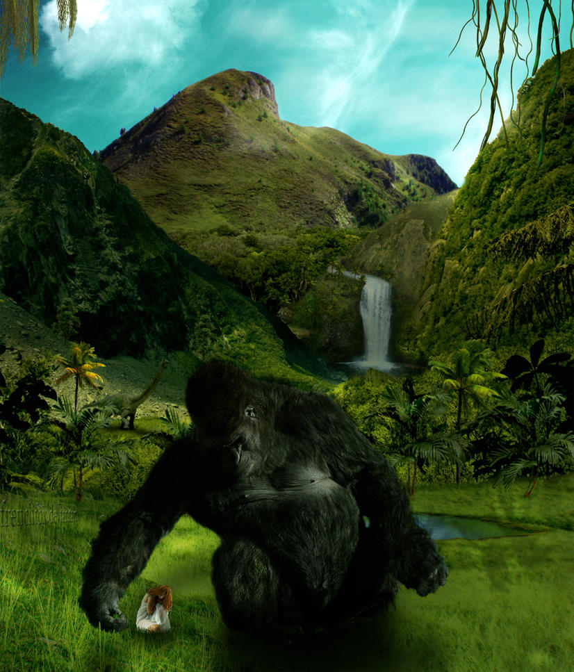Lost Paradise of King Kong by frenchfox