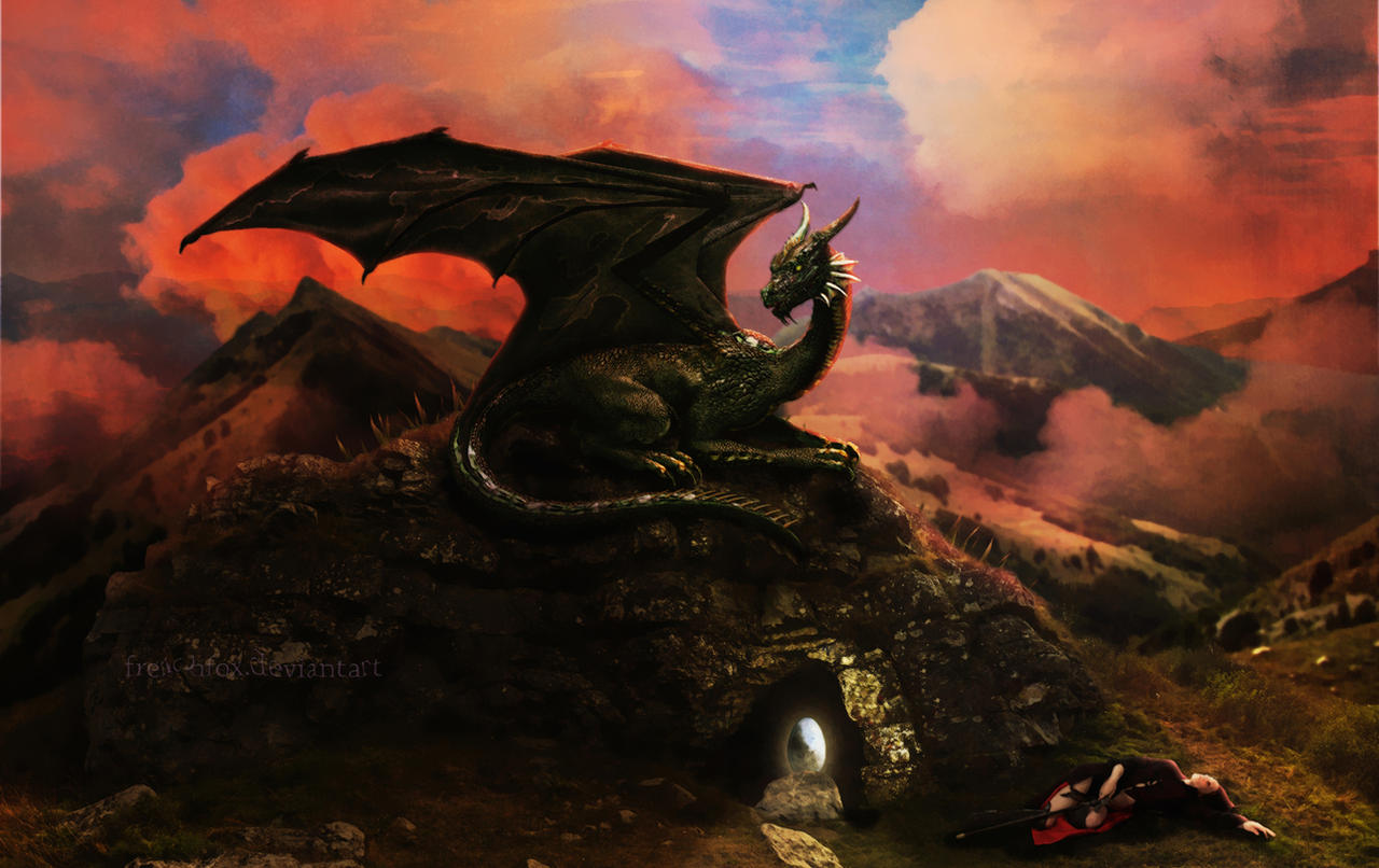 Dragon 39 s lair by frenchfox on deviantart for Dragon s lair
