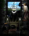 King of Corvids by frenchfox