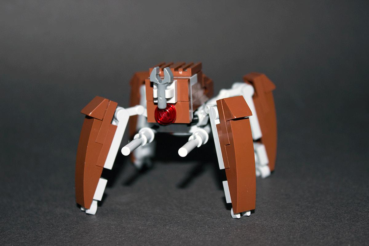 Custom Lego Lm 432 Crab Droid Instructions By Riser38 On Deviantart