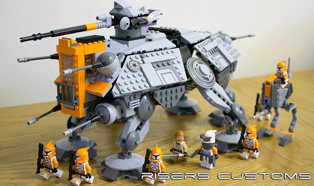 Lego Star Wars Custom Republic 212th At Te At Rt By Riser38 On Deviantart