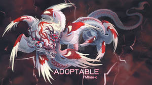 [Closed]Adoptable: Red storm dragon